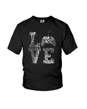 LOVE GAME CONTROLLER Youth T-Shirt thumbnail