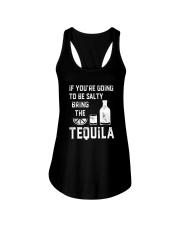 BE SALTY BRNG THE TEQUILA Ladies Flowy Tank thumbnail