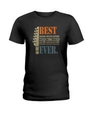 BEST GUITAR DAD EVER Ladies T-Shirt thumbnail