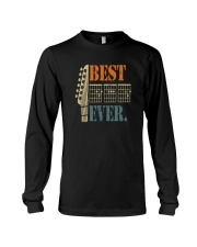 BEST GUITAR DAD EVER Long Sleeve Tee thumbnail
