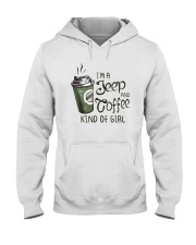 I'M A JEEP AND COFFEE KIND OF GIRL Hooded Sweatshirt thumbnail