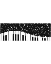 PIANO MUSIC NOTES Yoga Mat 70x24 (horizontal) front