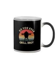 DO YOU EVEN GRILL BRO Color Changing Mug thumbnail