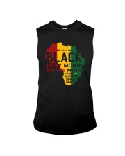 THIS MONTH I AM BLACKITY Sleeveless Tee thumbnail