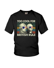 TOO COOL FOR BRITISH RULE Youth T-Shirt thumbnail