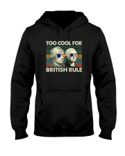 TOO COOL FOR BRITISH RULE Hooded Sweatshirt thumbnail