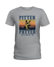 PITTER PATTER Ladies T-Shirt thumbnail