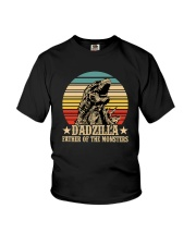 DADZILLA FATHER OF THE MONSTER Youth T-Shirt thumbnail