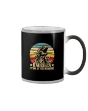 DADZILLA FATHER OF THE MONSTER Color Changing Mug thumbnail