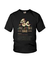 JIU JITSU DAD noun Youth T-Shirt thumbnail
