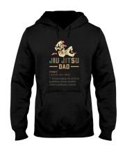JIU JITSU DAD noun Hooded Sweatshirt thumbnail
