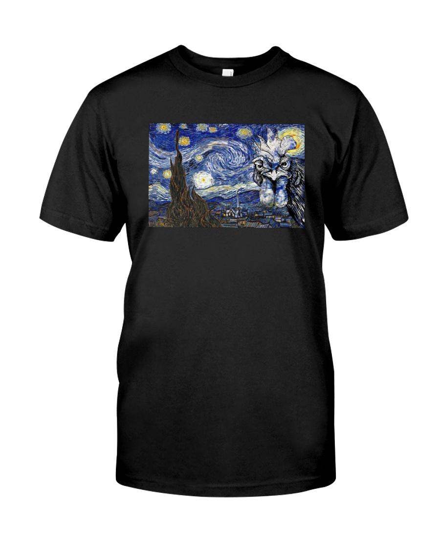 VAN GOGH CHICKEN Classic T-Shirt