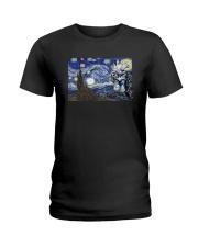 VAN GOGH CHICKEN Ladies T-Shirt thumbnail