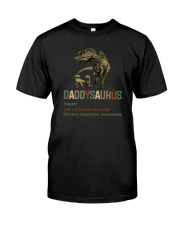 DADDYSAURUS DEF Classic T-Shirt front