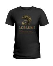 DADDYSAURUS DEF Ladies T-Shirt thumbnail