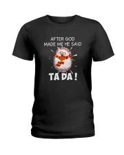 TADA HEDGEHOG Ladies T-Shirt thumbnail