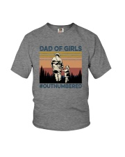 firefighter dad Youth T-Shirt thumbnail