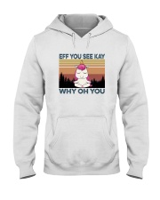 EFF YOU SEE KAY UNICORN Hooded Sweatshirt thumbnail