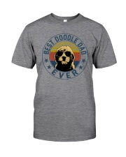 BEST DOODLE DAD EVER Classic T-Shirt front