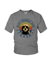 BEST DOODLE DAD EVER Youth T-Shirt thumbnail