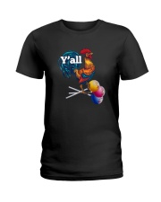 Y'ALL CHICKEN CANDY Ladies T-Shirt thumbnail
