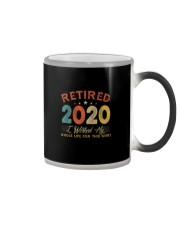 I WORKED MY WHOLE LIFE FOR THIS SHIRT Color Changing Mug thumbnail