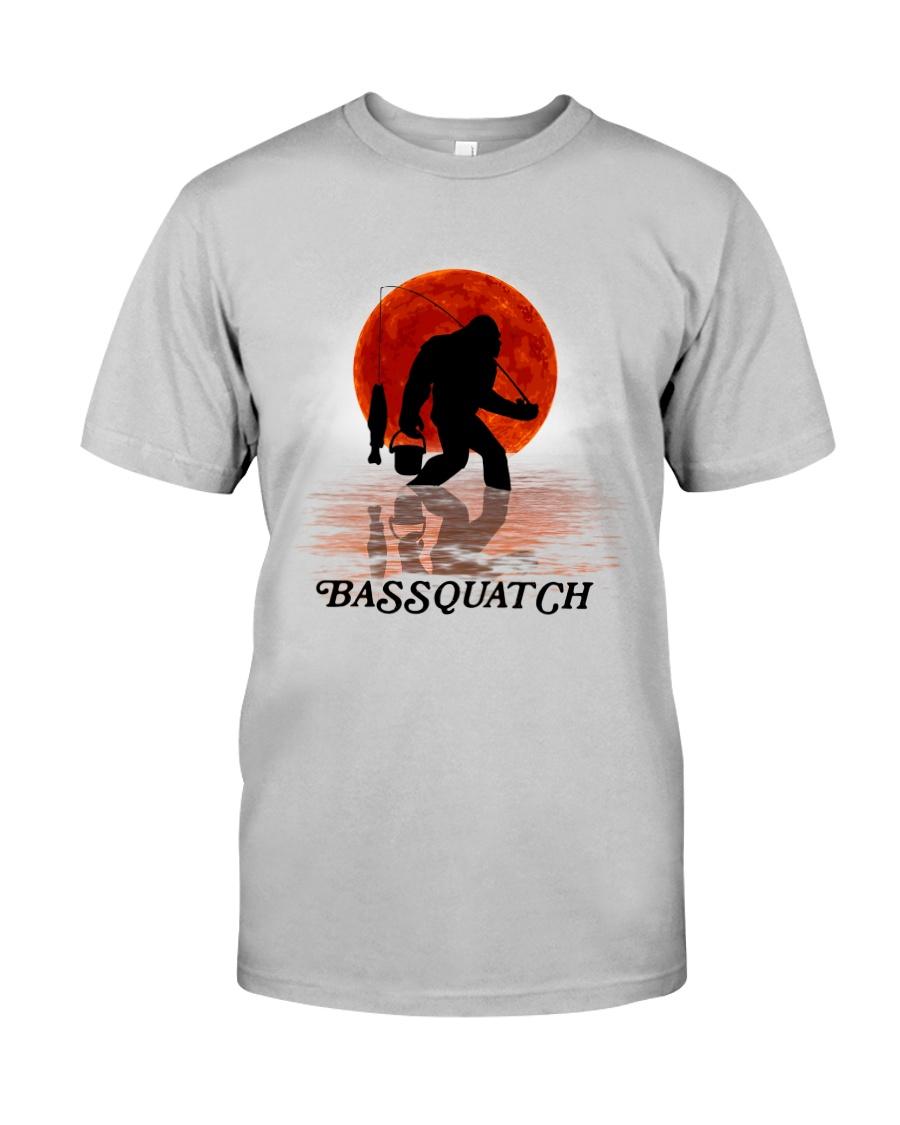 BASSQUATCH FISHING BIGFOOT Classic T-Shirt