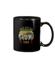 BEST CAT DAD EVER VINTAGE Mug thumbnail