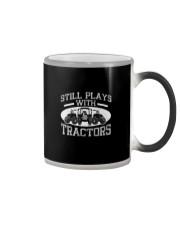 STILL PLAY WITH TRACTORS Color Changing Mug thumbnail