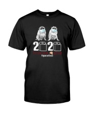 MASKED PUGS 2020 Classic T-Shirt front