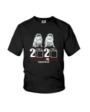 MASKED PUGS 2020 Youth T-Shirt thumbnail