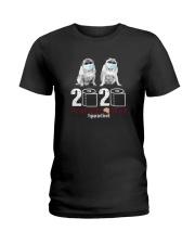 MASKED PUGS 2020 Ladies T-Shirt thumbnail