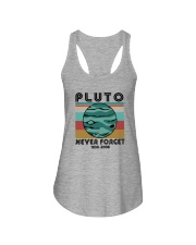 PLUTO NEVER FORGET Ladies Flowy Tank thumbnail