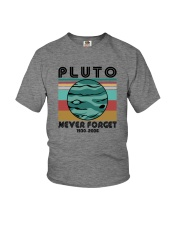 PLUTO NEVER FORGET Youth T-Shirt thumbnail