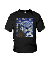 STARRY NIGHT PITBULL Youth T-Shirt thumbnail