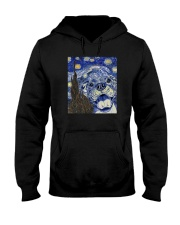 STARRY NIGHT PITBULL Hooded Sweatshirt thumbnail