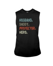HUSBAND DADDY PROTECTOR HERO Sleeveless Tee thumbnail