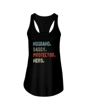 HUSBAND DADDY PROTECTOR HERO Ladies Flowy Tank thumbnail
