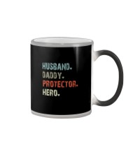 HUSBAND DADDY PROTECTOR HERO Color Changing Mug thumbnail