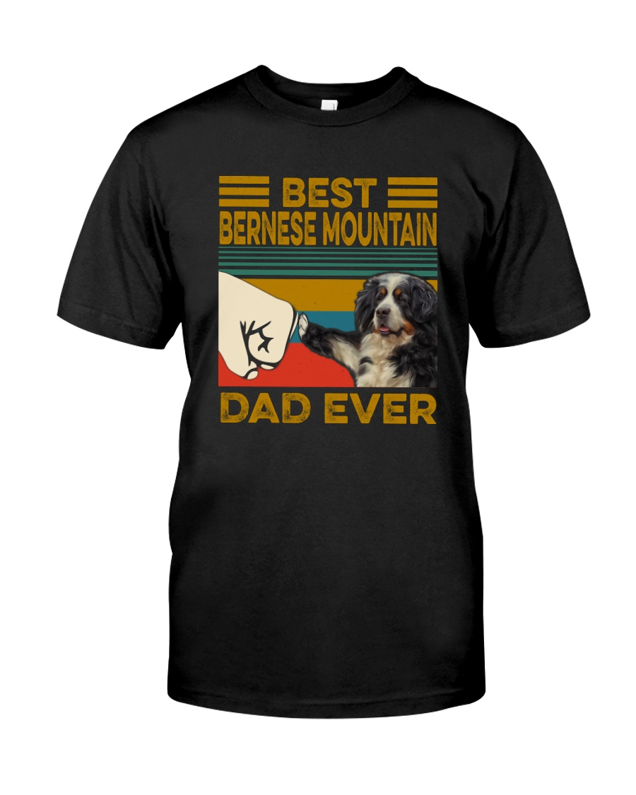 BEST Bernese Mountain Dog DAD EVER Classic T-Shirt
