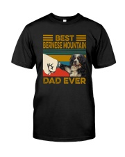 BEST Bernese Mountain Dog DAD EVER Classic T-Shirt front