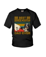 BEST Bernese Mountain Dog DAD EVER Youth T-Shirt thumbnail