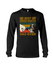 BEST Bernese Mountain Dog DAD EVER Long Sleeve Tee thumbnail