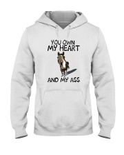 YOU OWN MY HEART AND MY ASS 1 Hooded Sweatshirt thumbnail