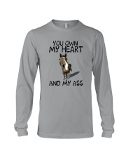 YOU OWN MY HEART AND MY ASS 1 Long Sleeve Tee thumbnail