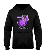 BEING A GRANDMA MAKES MY LIFE COMPLETE Hooded Sweatshirt thumbnail