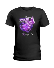 BEING A GRANDMA MAKES MY LIFE COMPLETE Ladies T-Shirt thumbnail