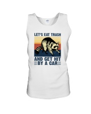 LET'S EAT TRASH NAD GET HIT BY A CAR aa Unisex Tank thumbnail