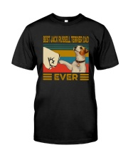 Best Jack Russell Terrier Dad Ever Classic T-Shirt front
