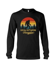 RETRO VINTAGE SOCIAL DISTANCING CHAMPION Long Sleeve Tee thumbnail